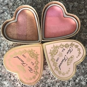 Too Faced Sweethearts Blush x2 *NEW*